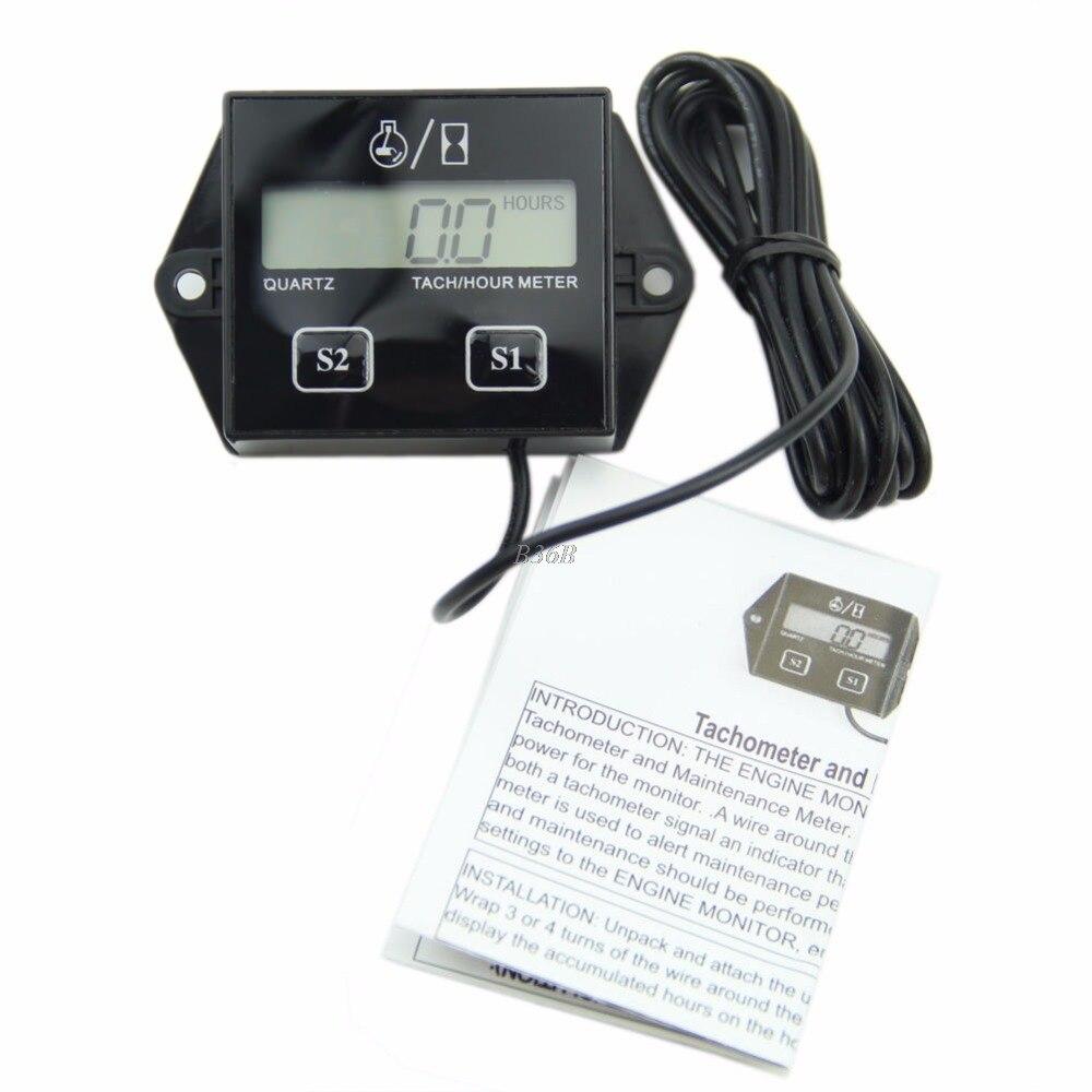 Online Get Cheap Digital Tachometer Tach Aliexpress – Digital Tachometer Wiring Spark Plug