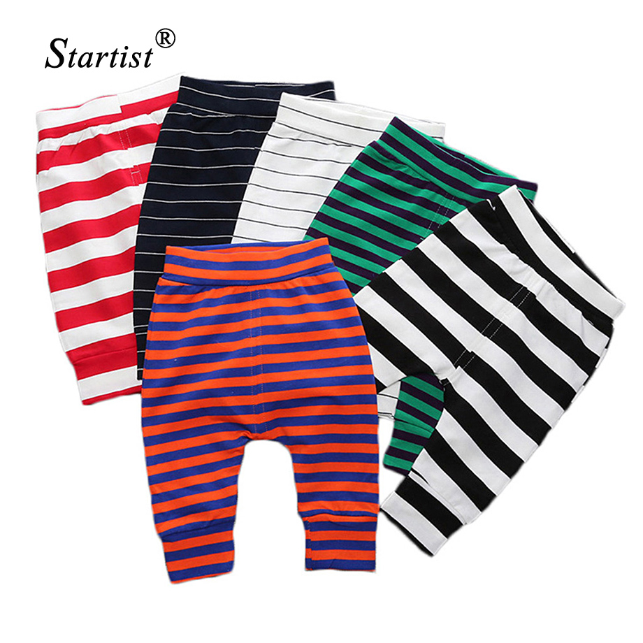 Newest Baby Pants Fashion Stripe Casual Pants Fashion Infant Pants Newborn Baby Boy Pants Baby Girl Clothing 0-24M Baby Trousers