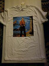 NWT Elton John Caribou 1974 album cover retro Mens T-Shirt size M 100% cotton Mans Unique Cotton Short Sleeves O-Neck T Shirt