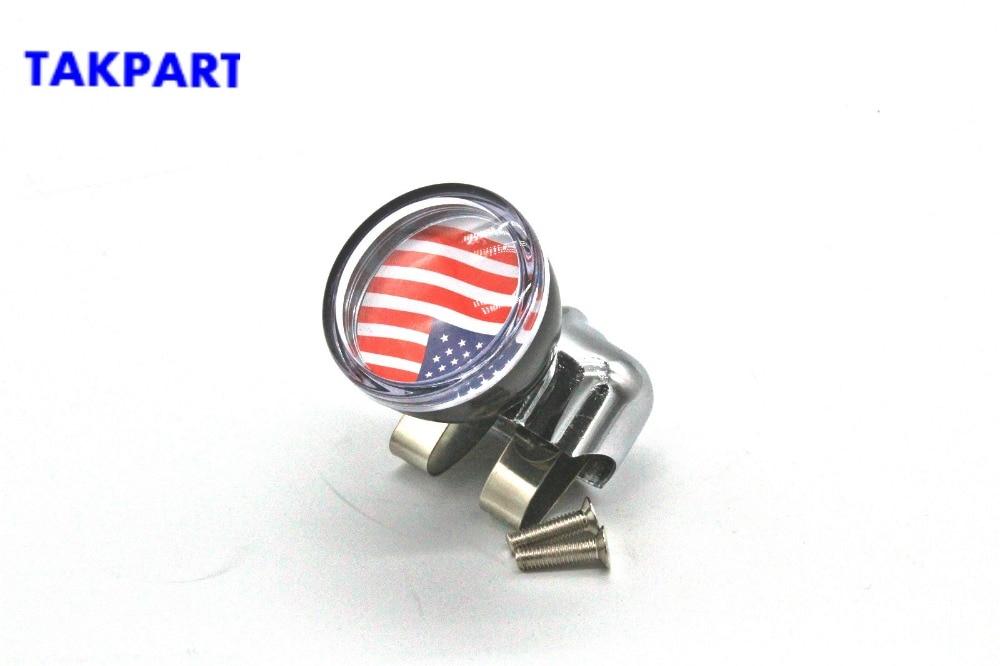 TAKPART Suicide Knob Black Steering Wheel Knob Spinner Universal with Power Handles