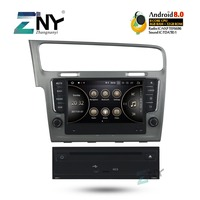 8 IPS Android 8.0 Auto Radio DVD GPS For VW Golf 7 2013 2014 2015 2016 2017 +Optional DSP/Carplay/DAB+/64GB ROM/Parrot BT