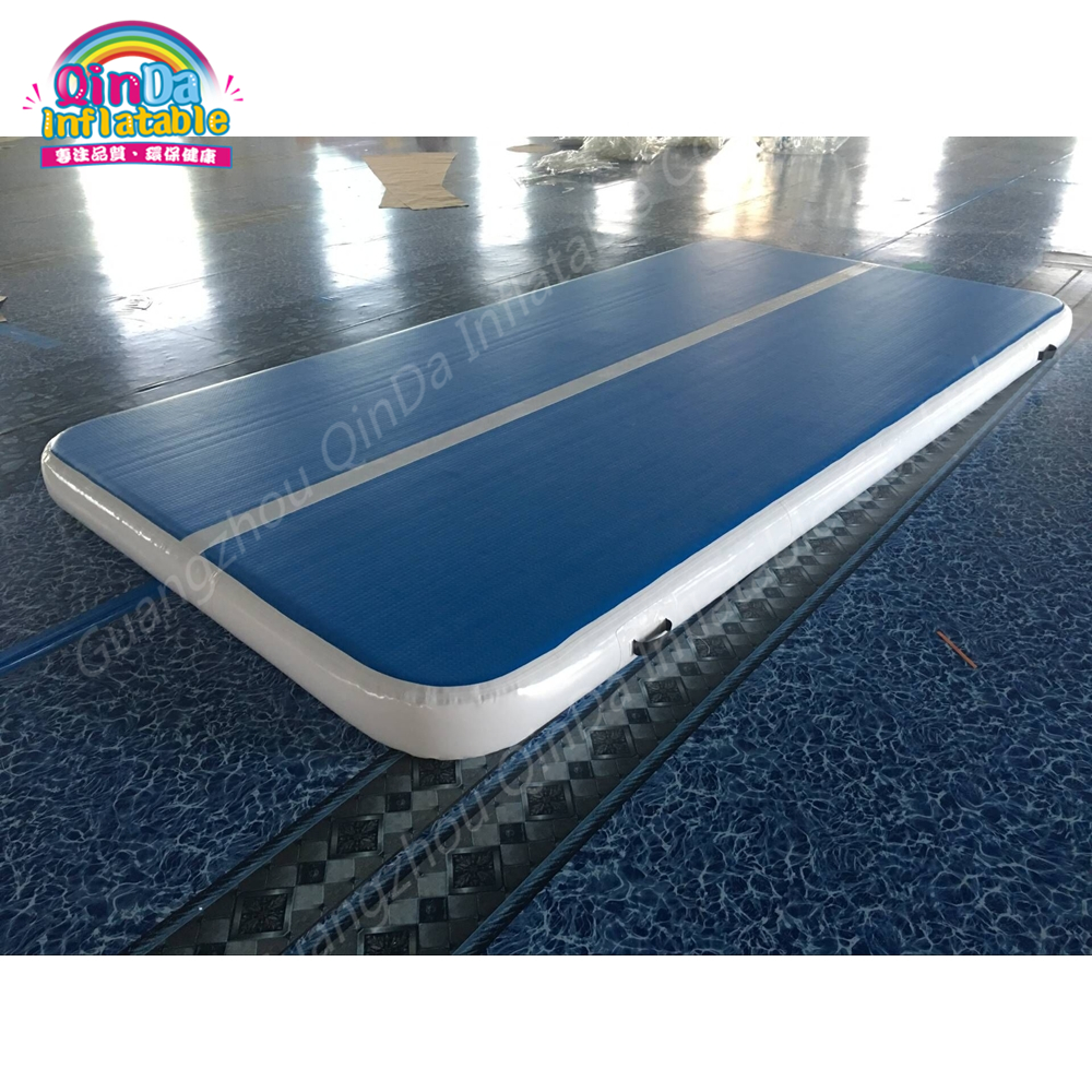 Inflatable Air Track Commercial Gym Equipment Tumble Track For Sale,Yoga Mat Manufacturer Inflatable Gymnastics Mat inflatable zorb ball race track pvc go kart racing track for sporting party