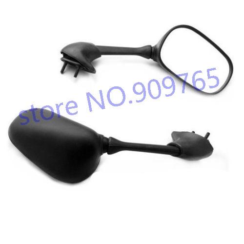 Black Pair Side Mirrors Mirror For Yamaha YZF R6 2001 - 2005 04 R6S 2006 - 2008