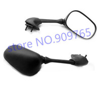 Black Pair Side Mirrors Mirror For Yamaha YZF R6 2001 2005 04 R6S 2006 2008
