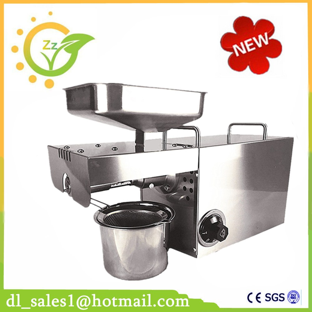 Stainless Steel 110V Or 220V For Choose seed, nut Oil Press Machine Commercial Grade Oil Extraction Expeller Presser hot sale 110v or 220v coconut oil press machine grape nut seed automatic abs plastic pressure high oil extraction