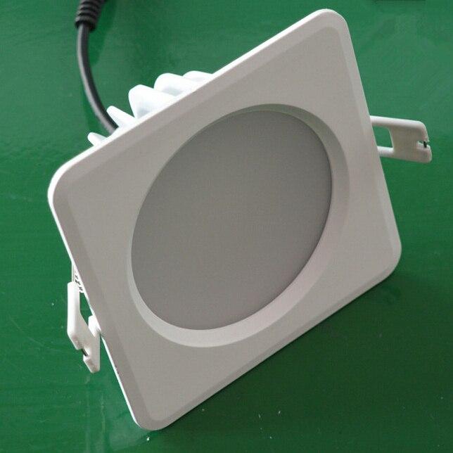 Velkoobchodní cena 15W / 20W LED diodové světlo vodotěsné IP65 zapuštěné teplé bílé / studené bílé LED stropní světlo CE RoHS