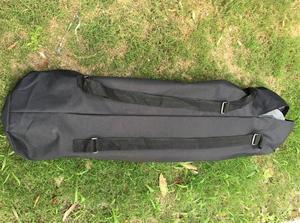 Image 4 - 長さ 110/120 センチロングボードスケートボードショルダーバックパック黒キャンバス運ぶ巾着