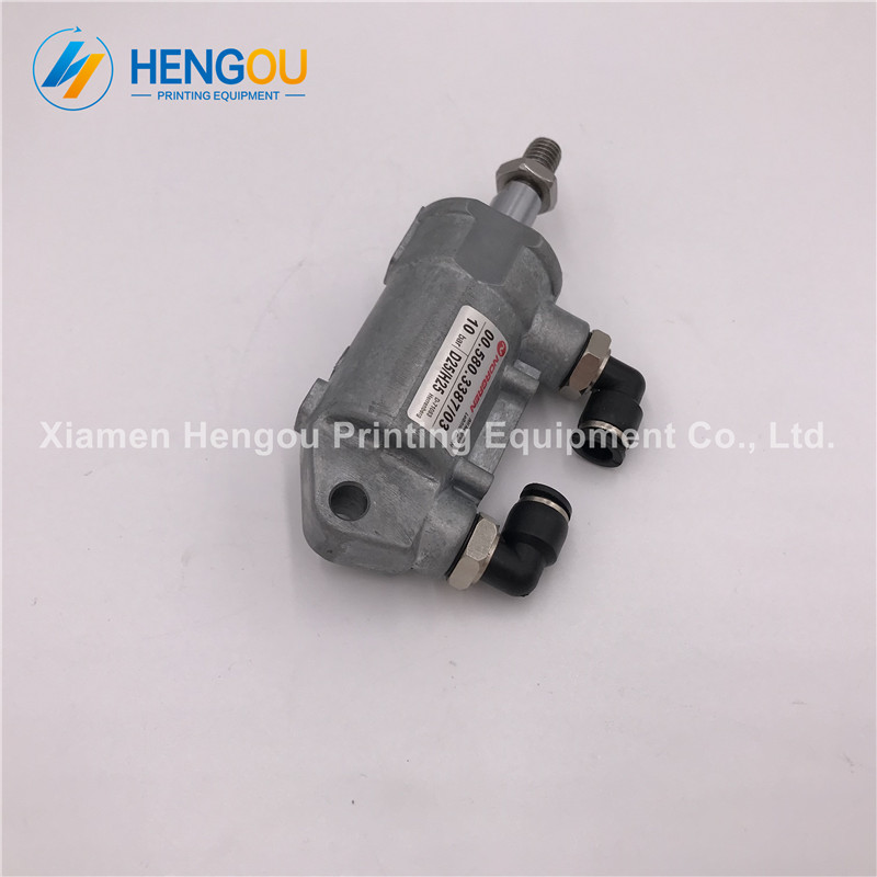 2 Pieces free shipping Heidelberg Air Cylinder 00.580.3387 D25 H25 Heidelberg SM102 SM74 SM52 machine cylinder