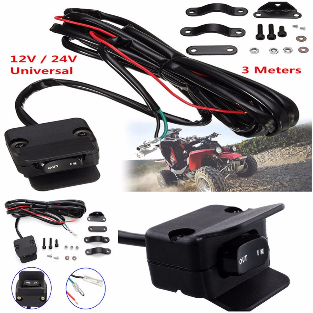 Volt Lighted Atv Handlebar Switch Wiring Diagram on