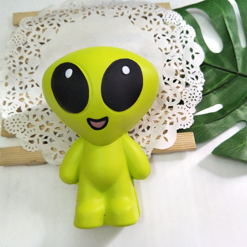 Cartoon Design ET Extra Terrestrial Alien Slow Rising Anti Stress Toy Stress Reliever