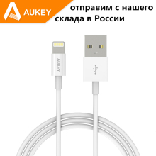 Aukey cable For Apple MFi For iPhone iphon 7 5 5S 6 6s Plus ipad Air For Lightning 8 pin USB Data Charger Line IOS 6 7 8 10 2016