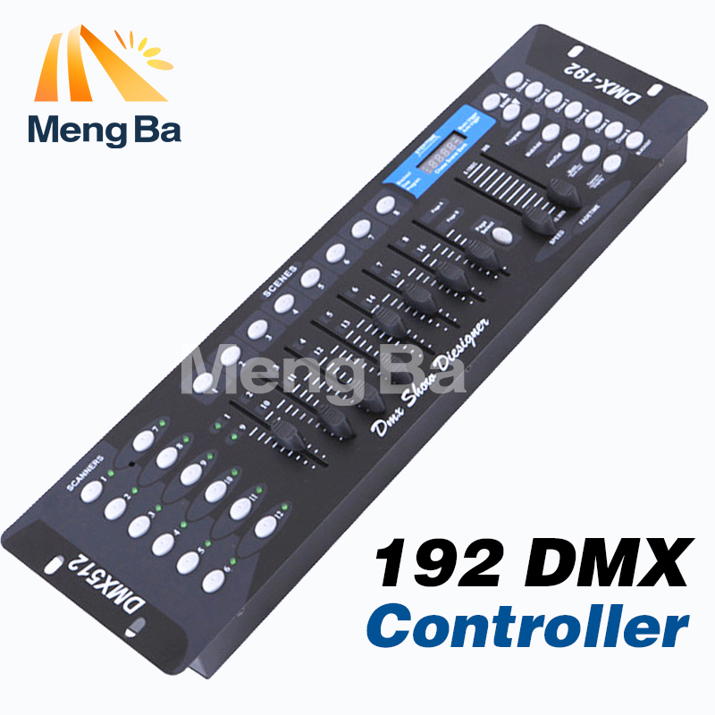 Free shipping NEW 192 DMX controller stage lighting DJ equipment dmx console for led par moving head spotlights dj controller dhl free shipping sunlite suite1024 dmx controller 1024 ch easy show lighting effect stage equipment dmx color changing tool