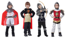 2019 New Kids Carnival Clothing Halloween Childrens Costume  Samurai Aristocratic Rome Warrior Cosplay Costumes