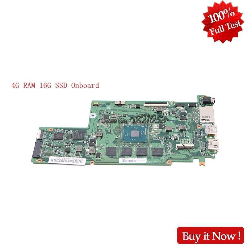 Nokotion 5B20L1324511 For Lenovo Chromebook N22 DANL6CMB6E0 Laptop Motherboard 16G SSD Onboard