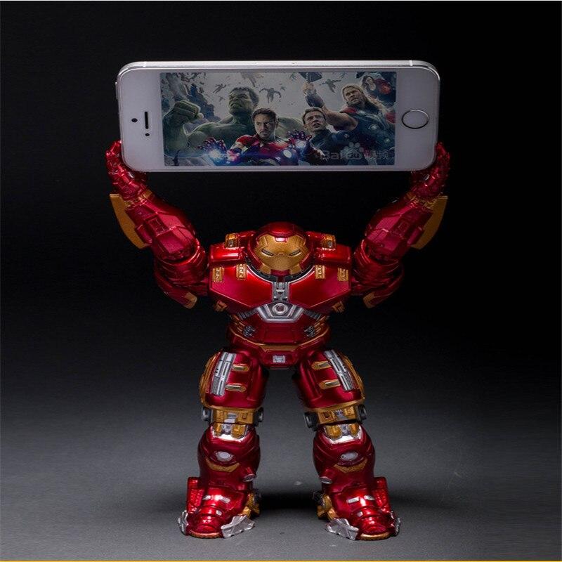 2016 Hot <font><b>Sale</b></font> <font><b>The</b></font> <font><b>Avengers</b></font> Anime Action <font><b>Figures</b></font> <font><b>Toys</b></font> Figma 17cm <font><b>Super</b></font> <font><b>Hero</b></font> Iron Man Luminous PVC Model for Anime Fans Best Gifts