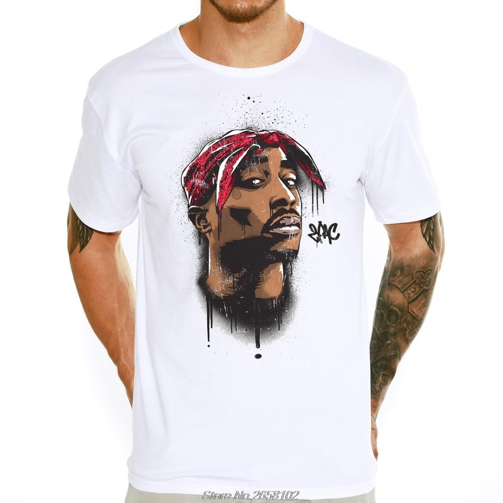 Tupac 2pac Printed   T  -  shirt   Hot Sale Hip Hop Style Streetwear Tee   Shirts   Hipster Casual Tops Harajuku Streetwear