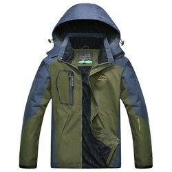 Męskie kurtki dorywczo płaszcze z kapturem Fahion wiatroszczelna wodoodporna kurtka mężczyzna stałe Outerwears mężczyźni marka kurtka Plus rozmiar 5XL LA529 men jacket casual brand men jacketmen brand jacket -
