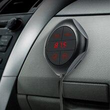 Auto MP3 Lettore Trasmettitore FM Per Auto Bluetooth Vivavoce Per Auto Kit MP3 del Giocatore di Musica Radio di Controllo di Tensione TF Disc di U 2 USB Caricabatteria Da Auto