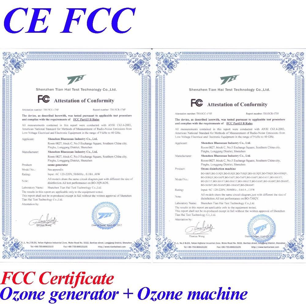 CE FCC vand ozon - Husholdningsapparater - Foto 6