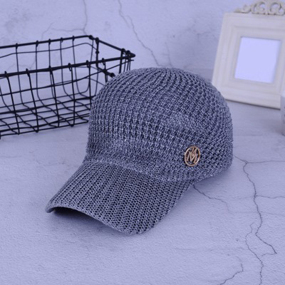 ce8a6eb41 US $7.22 49% OFF Ladies Summer Mesh Snapback Baseball Caps Breathable  Letter M Equestrian Cap For Women Girls Sun Hat Bone Casquette-in Sun Hats  from ...