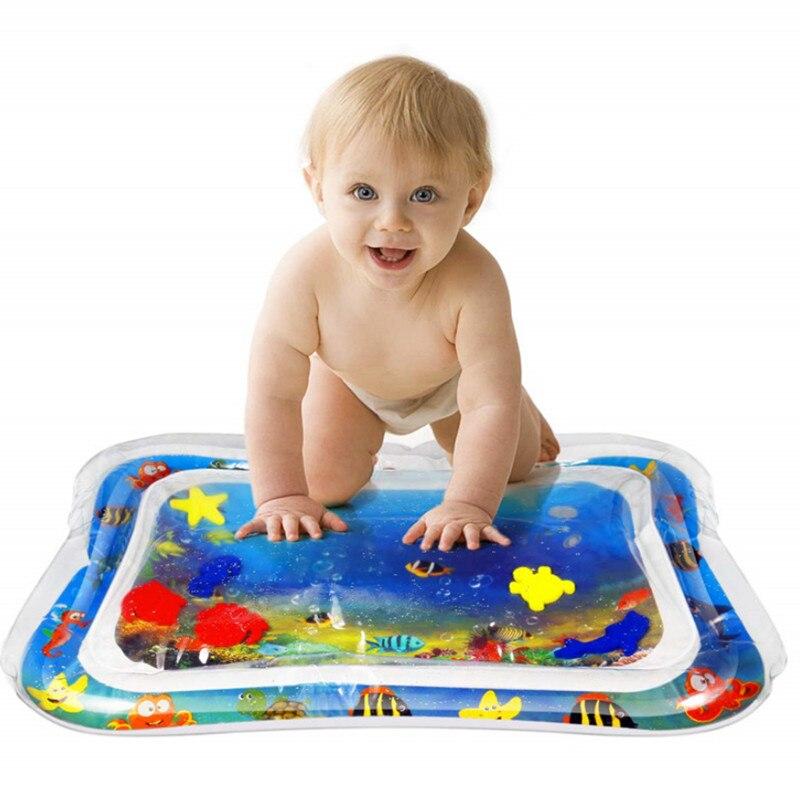 Vorsichtig 2019 Neue Bad Produkte Baby Aufblasbare Wasser Pad Baby Soft Play Matte Wasser Kissen Sommer