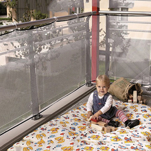 Railing Stairs Balcony Safety Protecting Net Baby Safety Fence Child Safety Products 3 Meters White Color