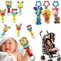 Venta caliente Nuevo Bebé Juguetes Móviles Bebé de Juguete de Felpa Cama Campanas de Viento Sonajeros Campana Juguete Cochecito de bebé para Recién Nacido