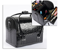New 2016 Hot High Quality Professional Makeup Organizer Bolso Mujer Cosmetic Case Travel Large Capacity Storage Bag Suitcases