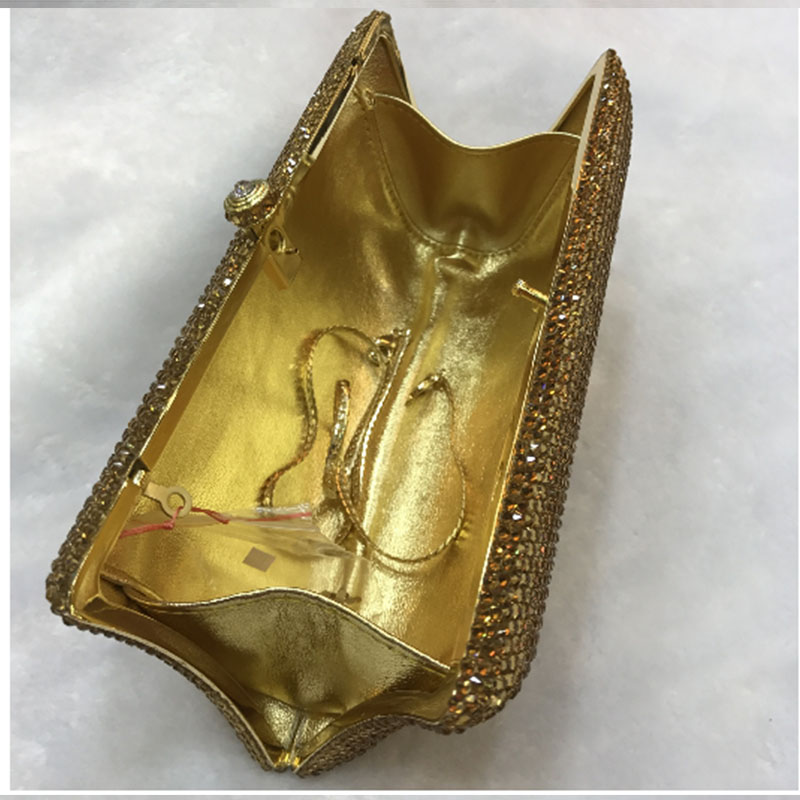Rouge Gold Mariée Mode Sacs argent rouge 1 Perlée Or Soirée Sac Main Femmes Strass jaune De Embrayage argent D'embrayage À Perle Mariage rqFTxr