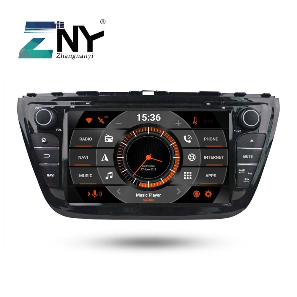 8 IPS Android 9.0 Car Stereo GPS For Suzuki SX4 S-Cross 2014 2015 2016 2017 Radio +Optional DSP Carplay DAB+ 64GB ROM Parrot BT8 IPS Android 9.0 Car Stereo GPS For Suzuki SX4 S-Cross 2014 2015 2016 2017 Radio +Optional DSP Carplay DAB+ 64GB ROM Parrot BT