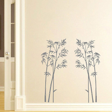 YOYOYU 40 colors Vinyl wall stickers muraux bamboo Tree Pattern Removeable Wall Decal Livingroom Diningroom Wall Decor ZX193 цена