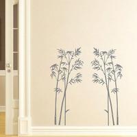 YOYOYU 40 colors Vinyl wall stickers muraux bamboo Tree Pattern Removeable Wall Decal Livingroom Diningroom Wall Decor ZX193