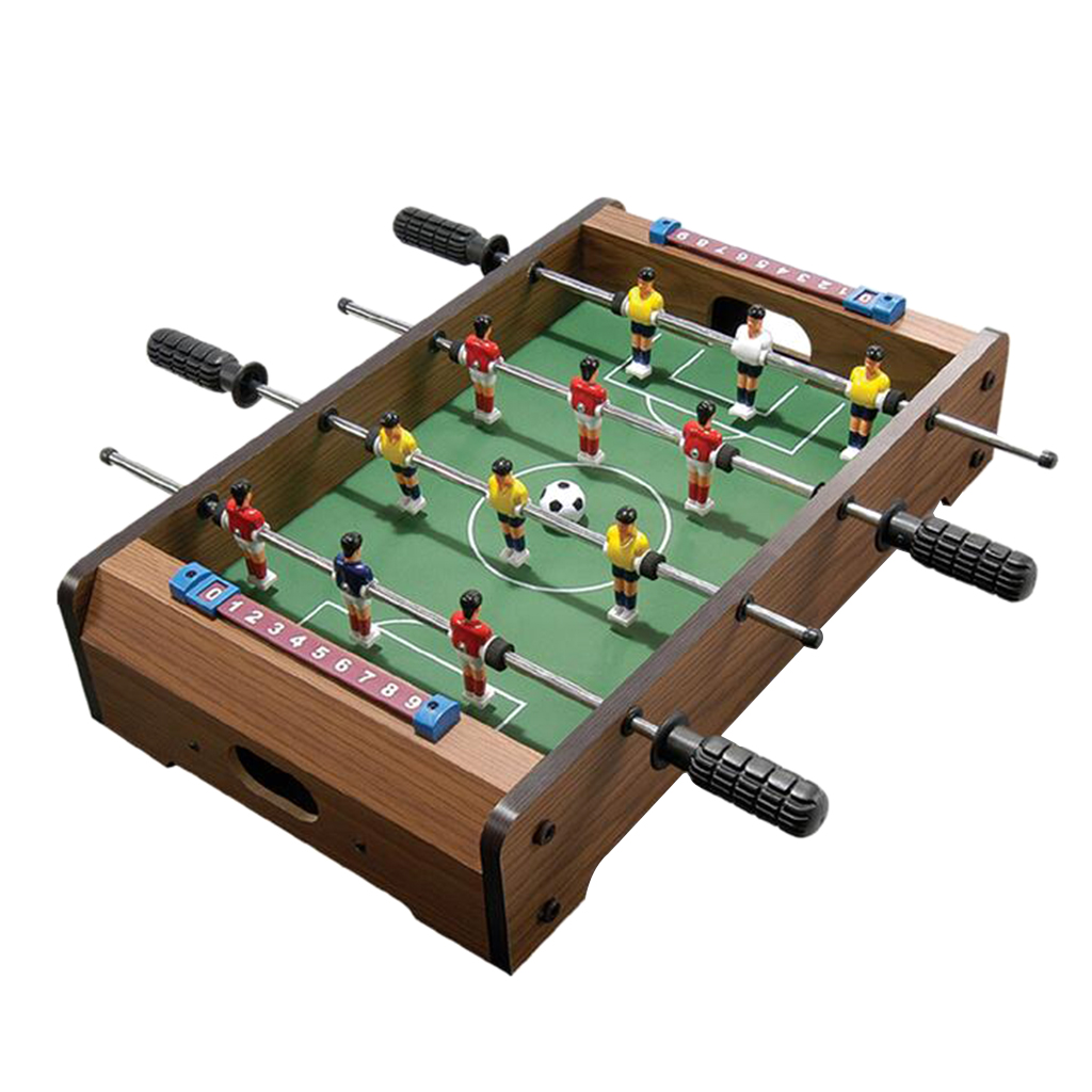 14inch Mini Tabletop Foosball Toy Shooting Defending Board Game Table Soccer Game For Kids Above 2 Years Old Gift Toys image