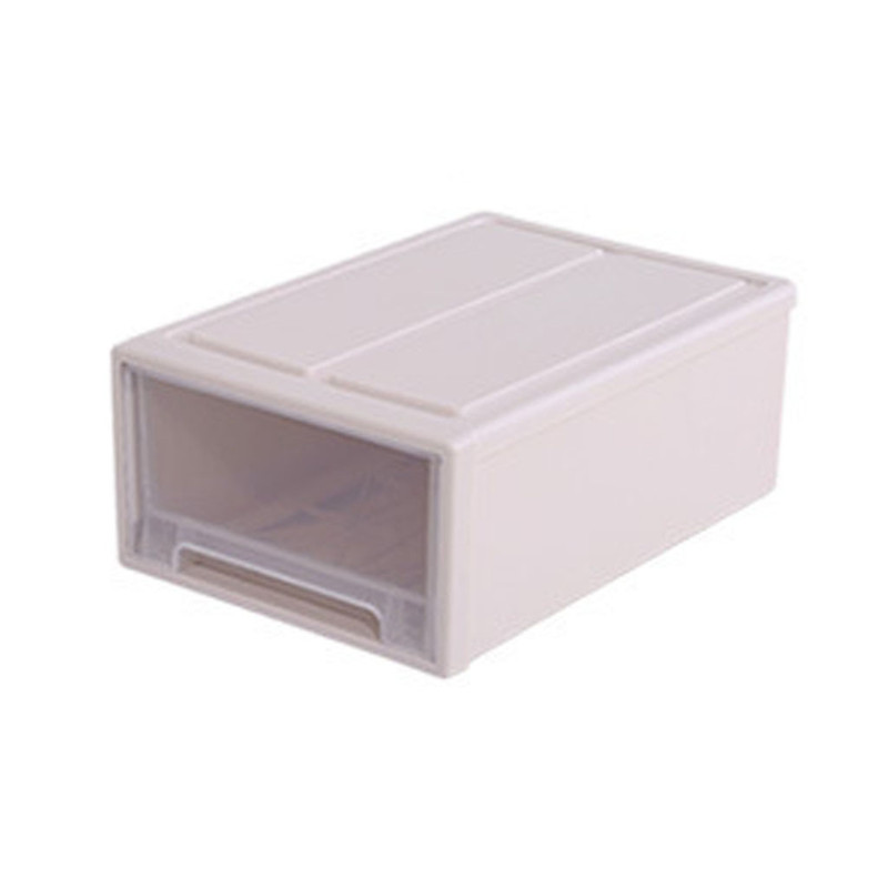 Image 5 - Storage Container Drawer Closet Organizer Plastic Muji Style Minimalist Stackable Organizer Cloest Plastic Storage Box-in Storage Drawers from Home & Garden