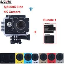 Extra a Battery,a Charger 2.0″ 4K SJCAM Sj5000 Series SJ5000X Elite WiFi NTK96660 30M Waterproof Sports Action Camera Sj Cam DVR