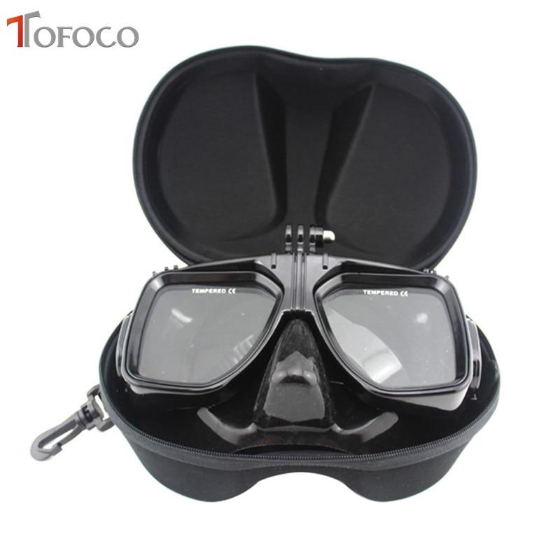 TOFOCO Mască cu scufundări pentru scufundări Ochelari pentru înot - Camera și fotografia