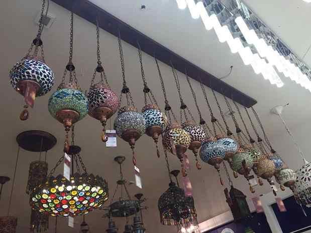 Турецкий марокканский подвесной светильник ручной работы мозаичная витражная стеклянная Коридорная лестница кафе ресторан Подвесная лампа