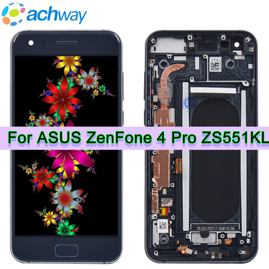 Per 5.5 ASUS ZenFone 4 Pro ZS551KL Display LCD Touch Screen Digitizer Assembly Per ASUS ZenFone4 Pro ZS551KL lcd di ricambioPer 5.5 ASUS ZenFone 4 Pro ZS551KL Display LCD Touch Screen Digitizer Assembly Per ASUS ZenFone4 Pro ZS551KL lcd di ricambio