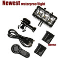 sj4000 Waterproof LED flash video light,Underwater Diving flash Light lamp Mount For GoPro Hero 4/3+,SJCAM/Xiaomi Yi Accessories