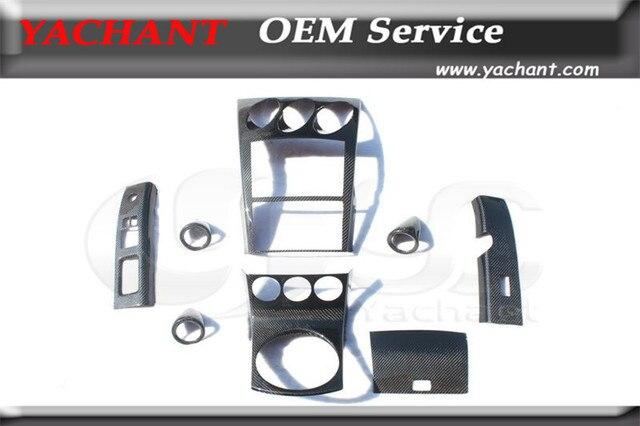 Car Styling Carbon Fiber Interior Trim Kit Fit For 2002 2008 Nissan 350Z Z33