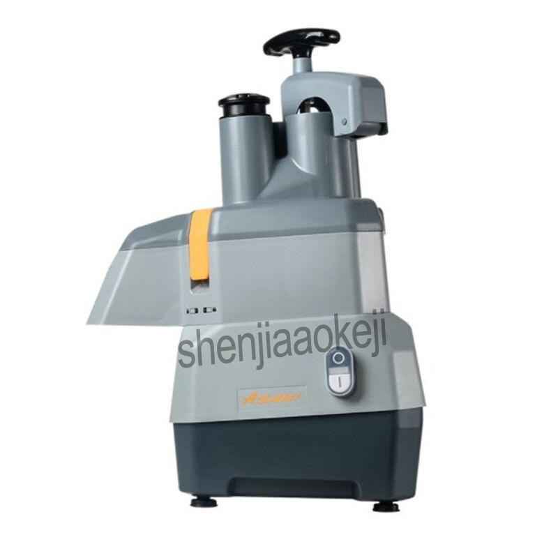 Коммерческая овощерезка многофункциональная электрическая машина для резки нарезки ломтиками картофеля резки проволоки резки 220 В - 5