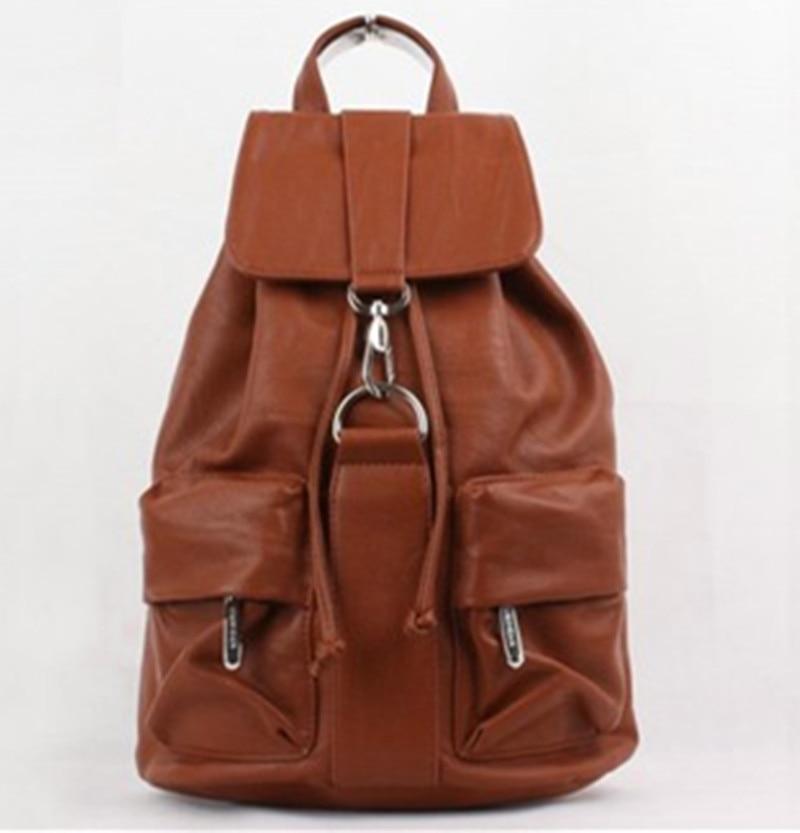 KUNDUI Designer Women Backpack For Teens Girls Black Rucksack Preppy Style School Bag PU Leather Backpacks Ladies High Quality цена 2016