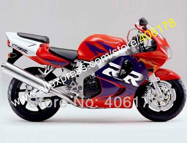 Hot SalesRed Purple Moto Fairing Kit For Honda CBR900RR 919 98 99 CBR 900RR 1998 1999 900 RR Motorcycle Fairings Body