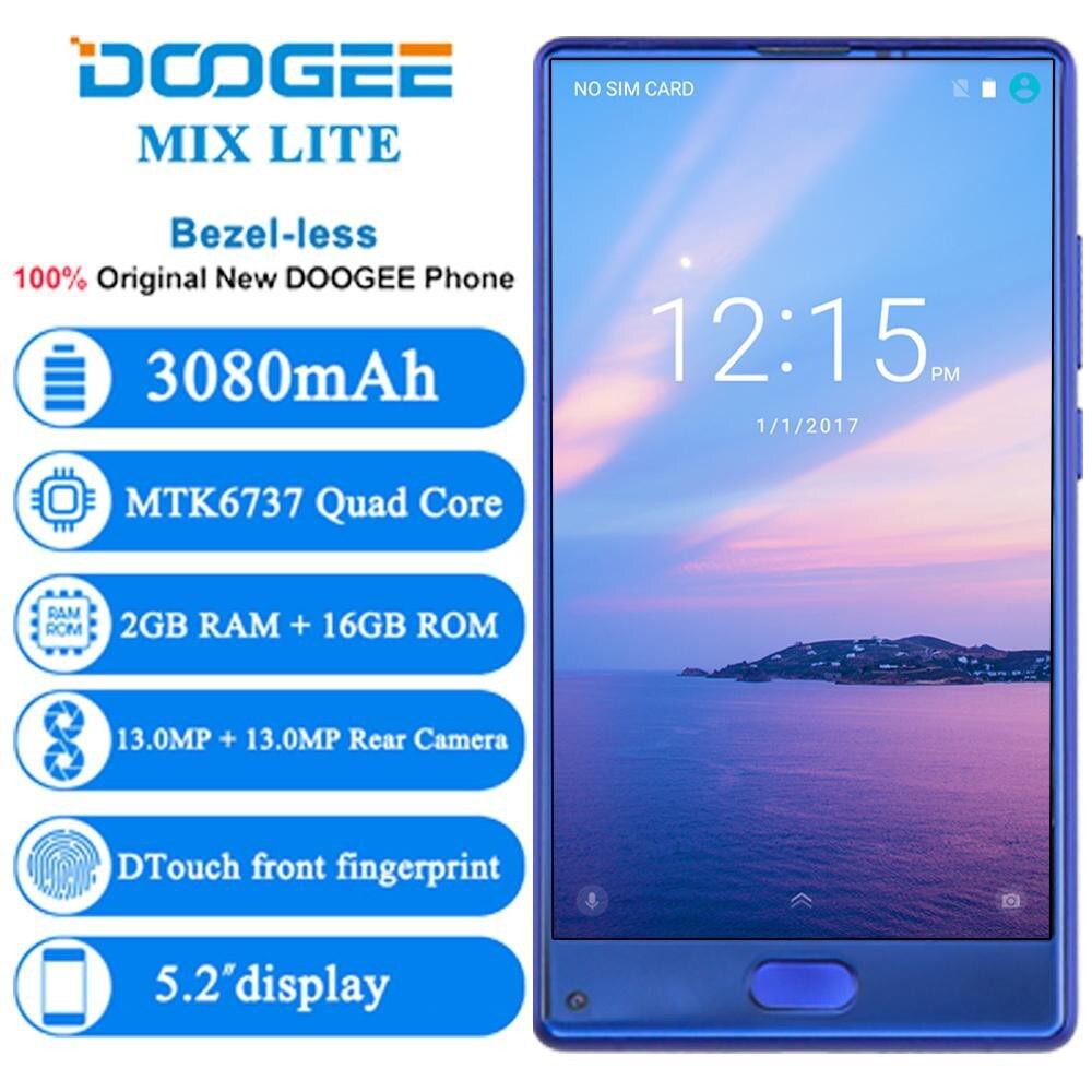 DOOGEE MIX Lite Smartphone Cámara Dual 5,2