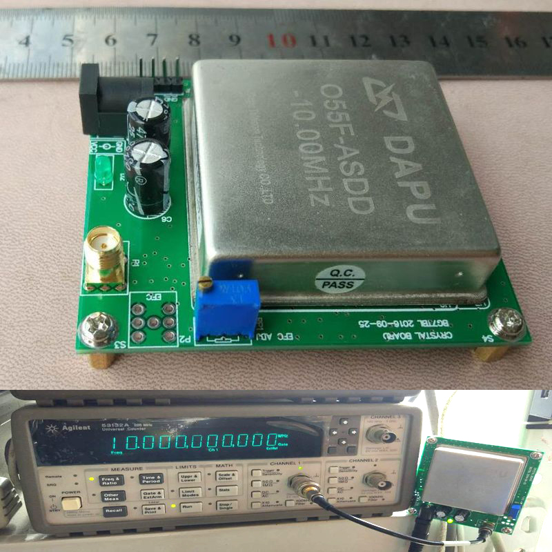 10 mhz OCXO Cristal Oscillateur Fréquence Référence avec Conseil