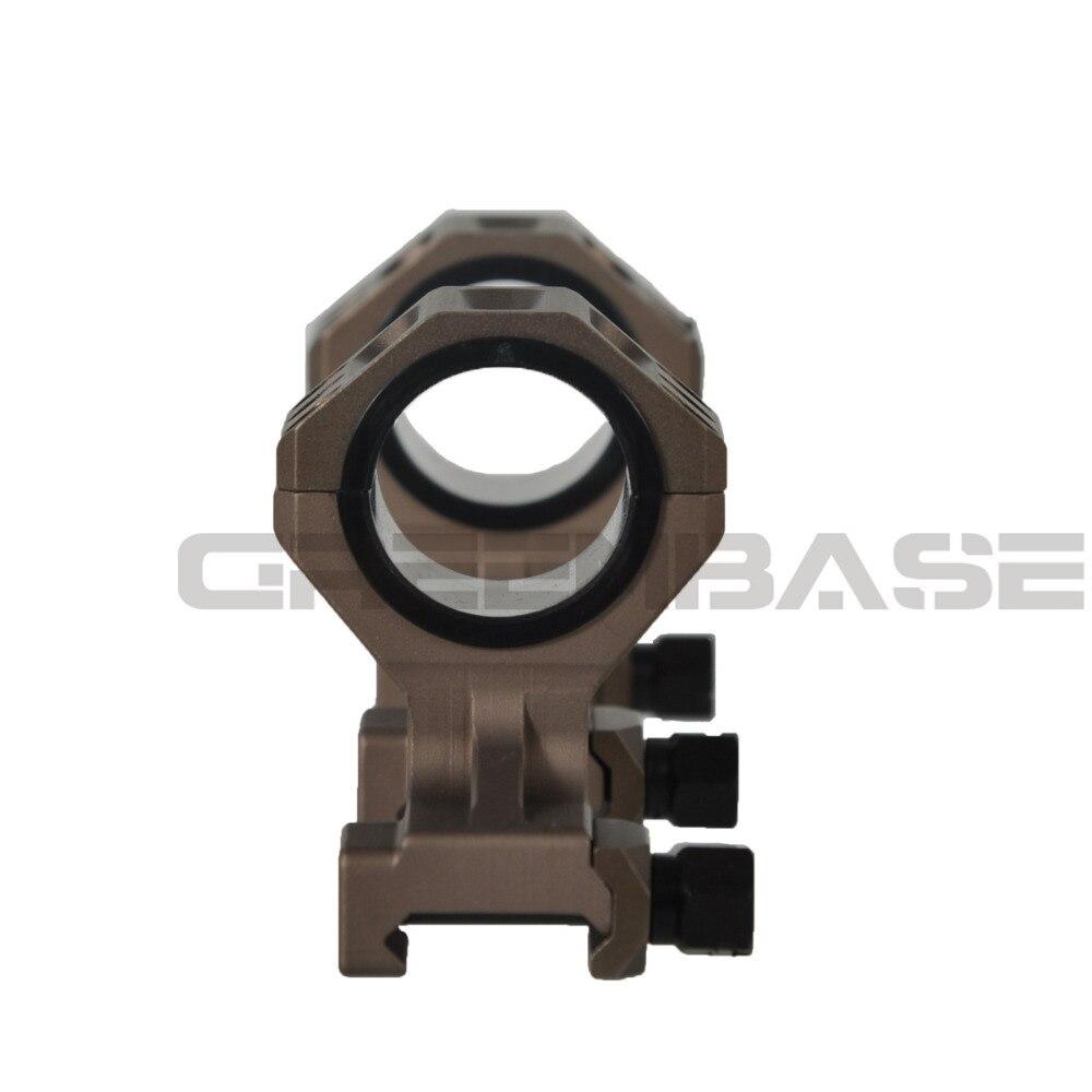 rifle ge montagem 25.4mm 30mm escopo anel
