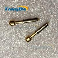 5 24 pogo контактный разъем DHL/EMS D5.0 * 23,75 мм 80A большой ток Весна зонд контакта для аккумулятор PCB форма зонд Тесты pin AA