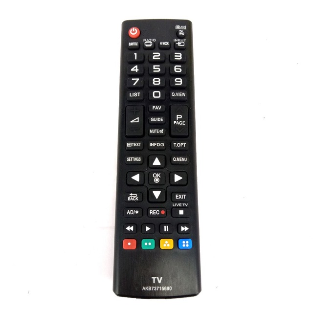 MỚI Thay Thế cho LG LED LCD Điều khiển từ xa AKB73715680 cho 50LB5610 50PB560B 55LB5610 60LB5610