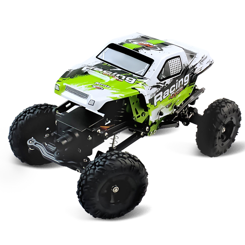 1:24 Scale RC Clim1:24 Sbing Car 4WD Racing Remote Control Off-Road Vehicle 2.4G HZ Shock Resistan Electronic Car Model Boy Toys 1 18 scale red jeep wrangler willys alloy diecast model car off road vehicle model toys for children gifts collections