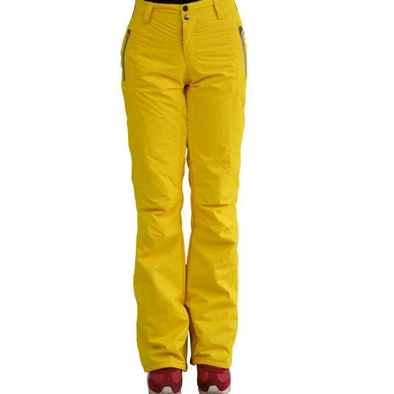 Prix pour Livraison gratuite Femme Hiver Ski Pantalon Lady Durable Sports de Plein Air Snowboard Escalade Pantalon Thermique Respirant Étanche